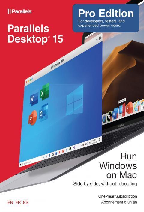 Bán code Parallels Desktop 15 for Mac 1 năm