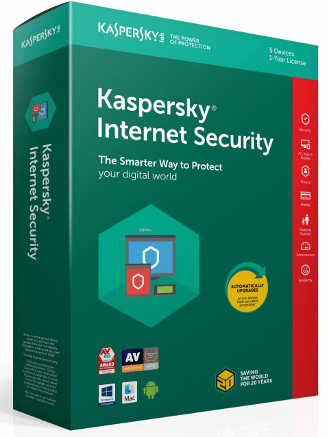Bán Key Kaspersky Internet Security