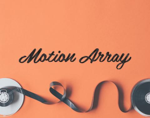 Bán tài khoản Motion Array trọn đời giá rẻ